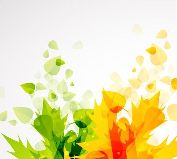 THÁNG 9 LÁ THU VÀNG Abstract-Autumn-Leaves-Vector-Background-1