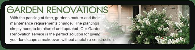 garden renovations