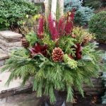 seasonal planters and urns