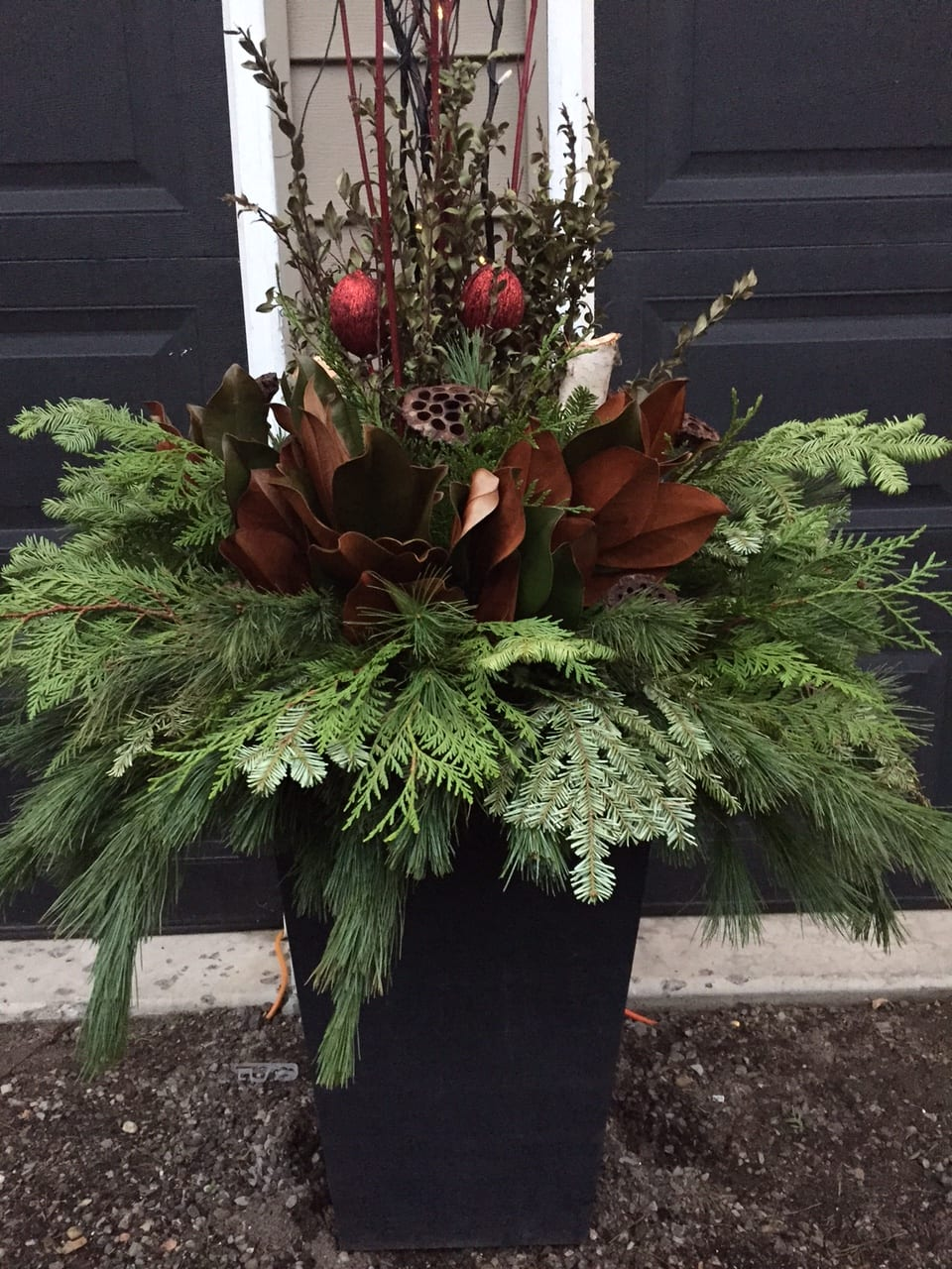 Seasonal planters, pots and urns