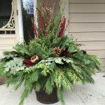 large seasonal planter
