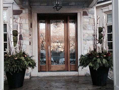 winter planter