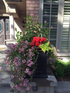 custom planter for summer